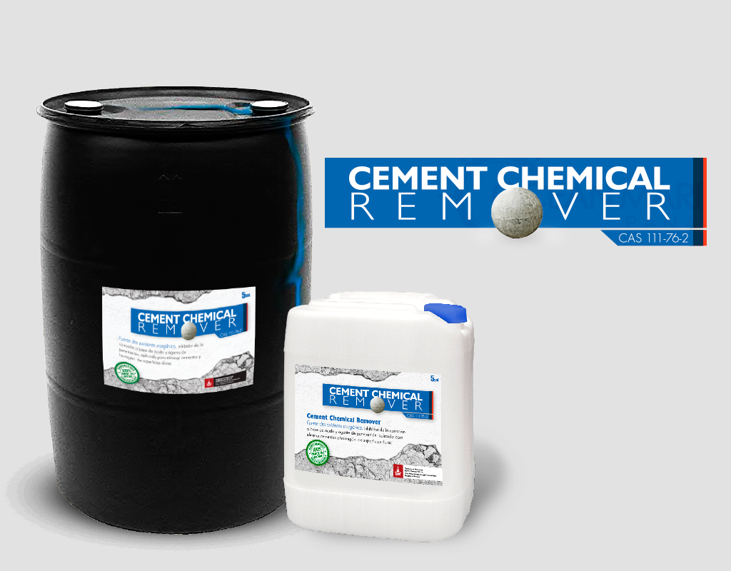 Cement remover e mm chemical int for Concrete cleaner oil remover